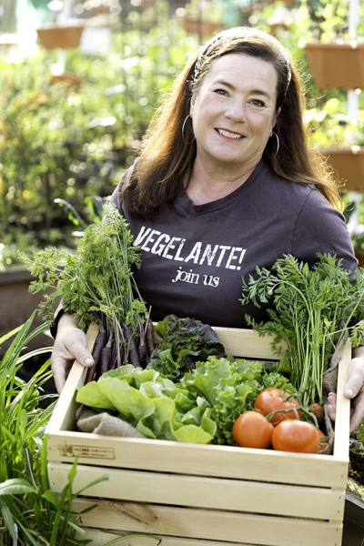 """Vegelante"" Geri Miller of Home Grown Edible Landscapes"