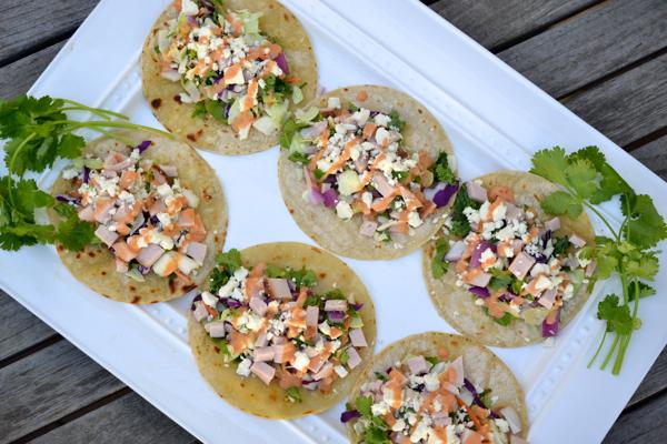 Southwestern Turkey Tacos