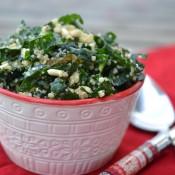 cheddar kale