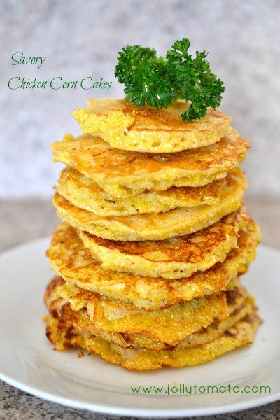 chicken corncakes