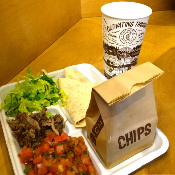 chipotle dinner