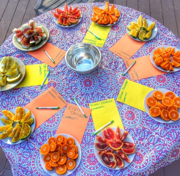 citrus table