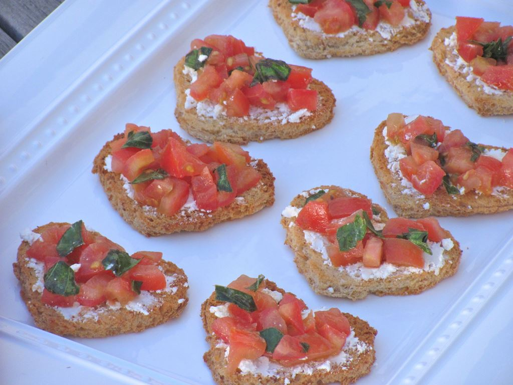 valentine's day appetizer - jolly tomato, Ideas