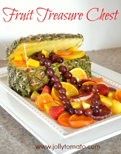 pineapple treasure chest