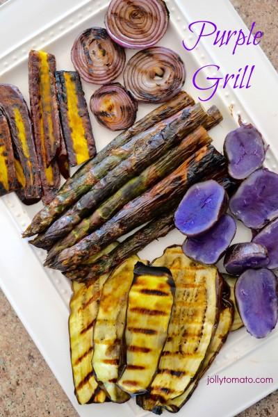 purple grill