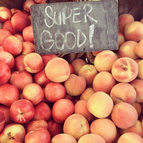 super good peaches