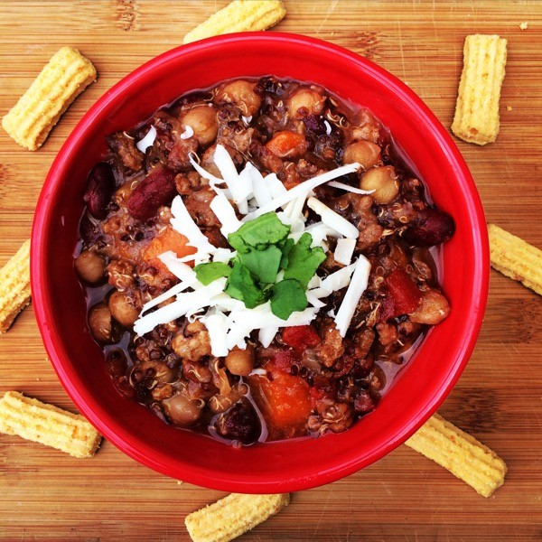 turkey quinoa chili