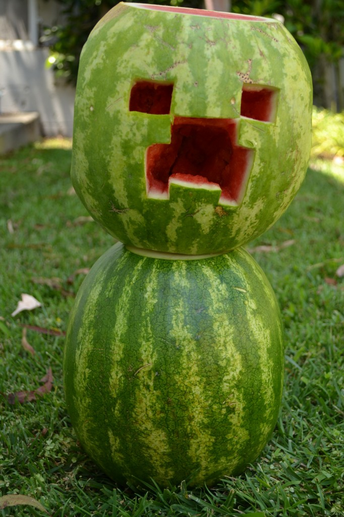 Summer watermelon carving jolly tomato