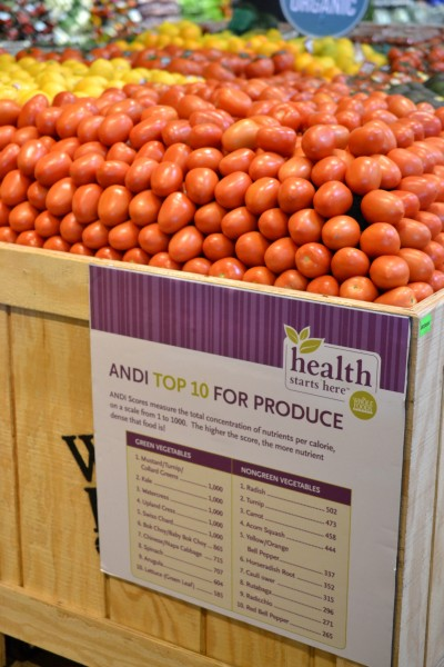 A Whole Lotta Healthy Food At Whole Foods Jolly Tomato