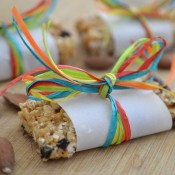 wrapped cereal bar
